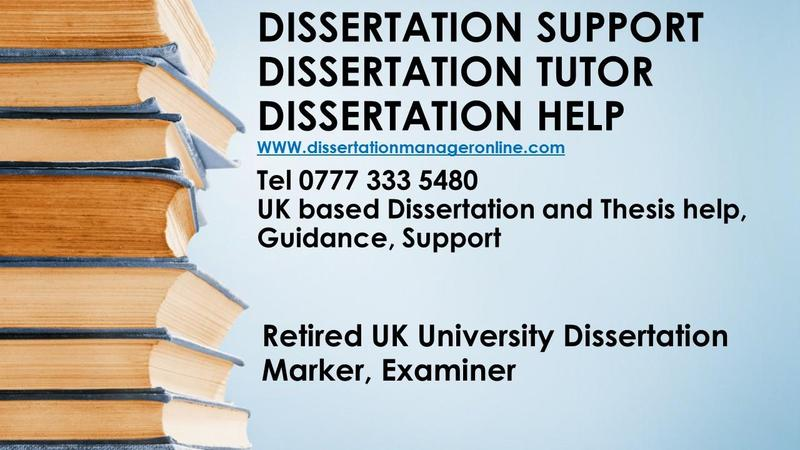 Dissertation counseling